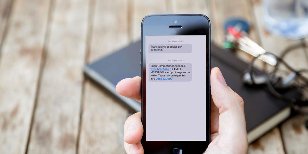 Los SMS para cultivar la relación entre clientes y empresas.