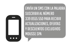 El SMS para recopilar contactos
