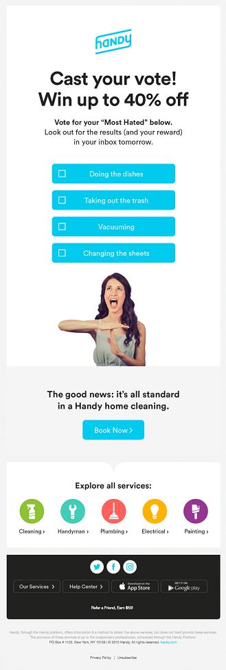 El formulario de Handy