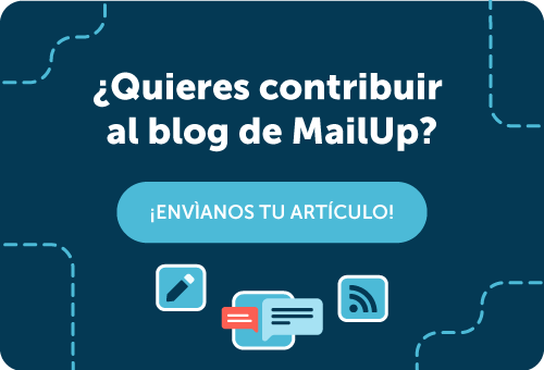 Contribuye al blog de MailUp