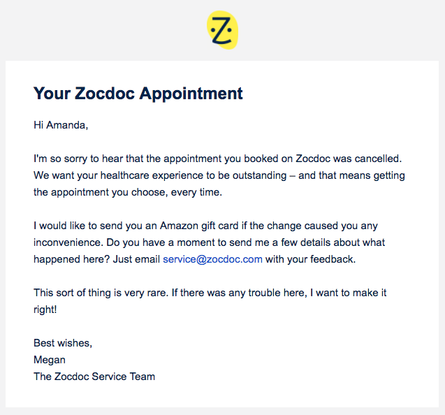 zocdoc-email-appointment-cancelled