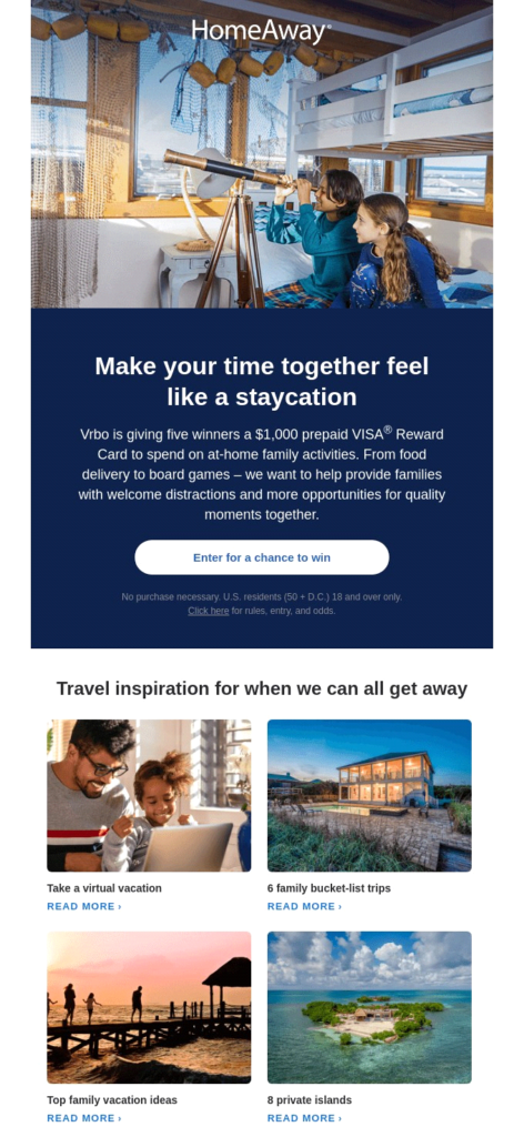 homeaway email