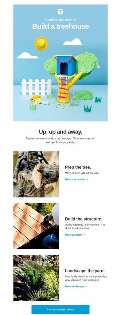 campaña de goteo summer project 2